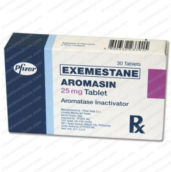 Aromasin 25 mg Tablets