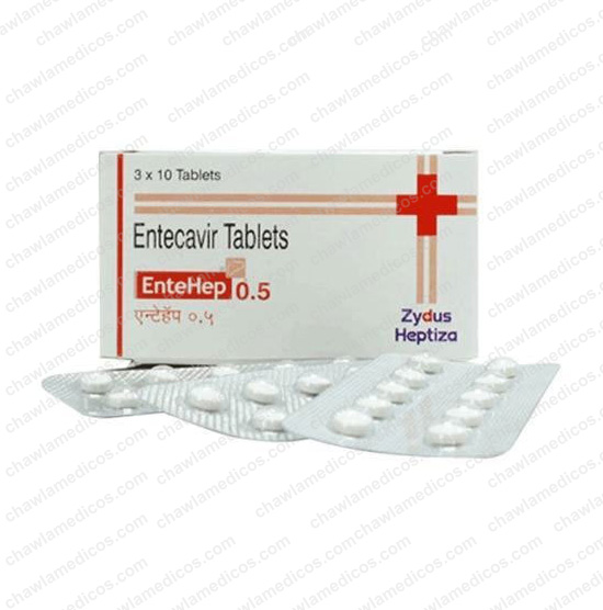 Entehep Tablets 0.5mg