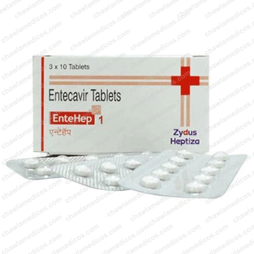 Entehep 1mg Tablet