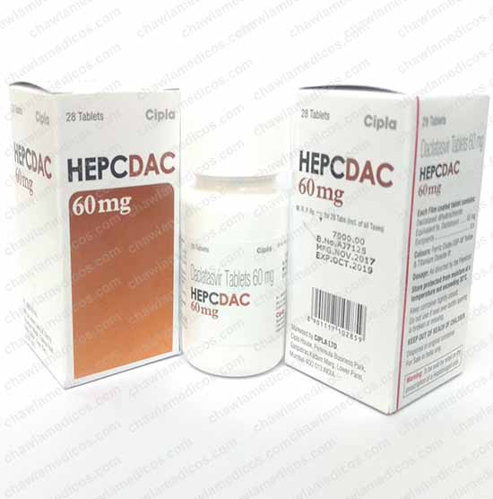 Hepcdac 60 mg Tablets