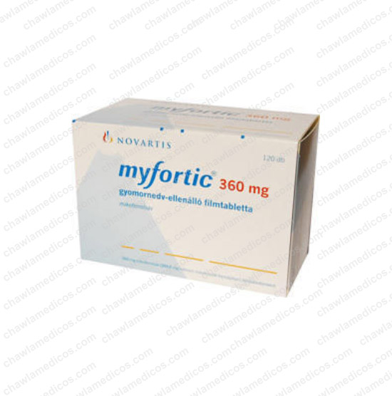 Myfortic Tablet 360mg