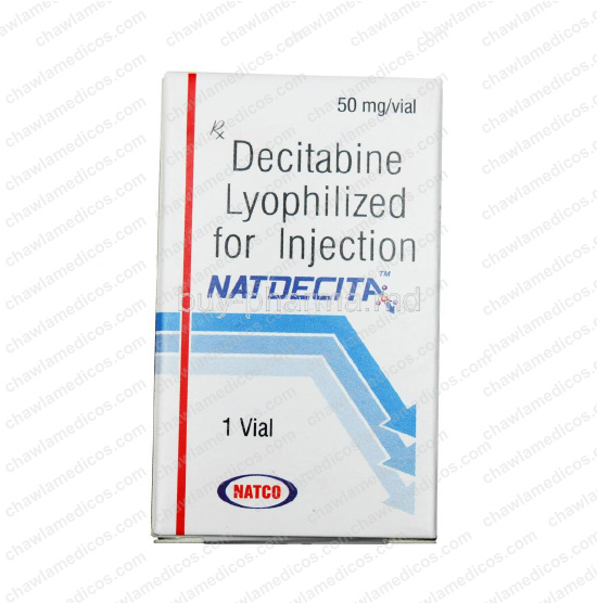 Natdecita 50mg Injection