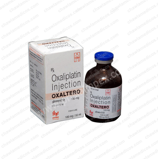 Oxaltero 100mg/50ml Injection