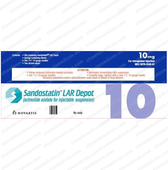 Sandostatin LAR 10mg/1ml Injection