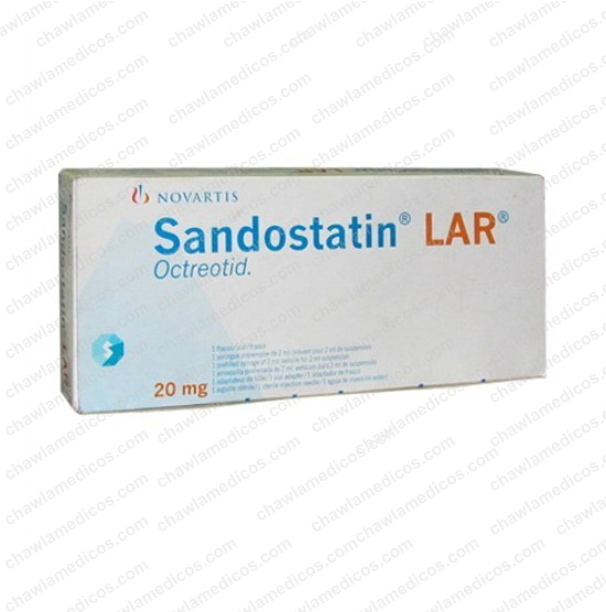 Sandostatin LAR 20mg-1ml Injection