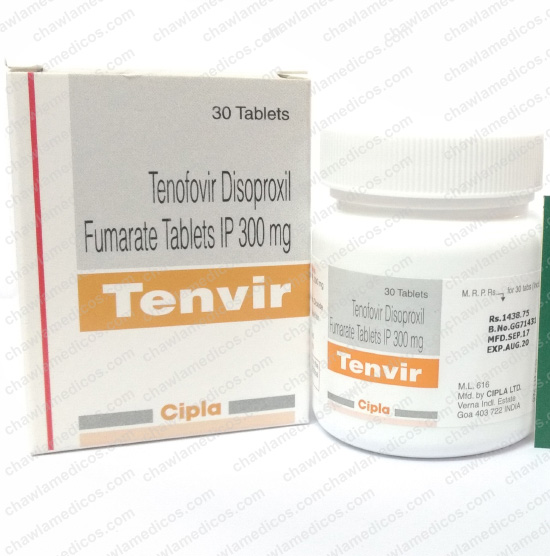 Tenvir 300 mg Tablets