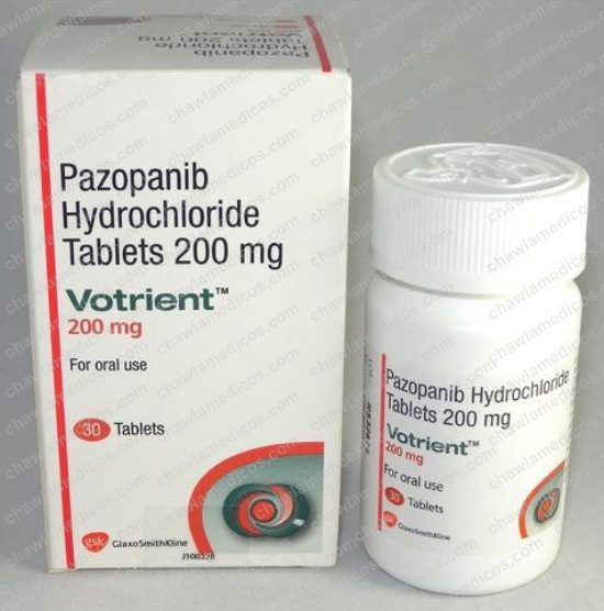 Votrient 200mg Tablets